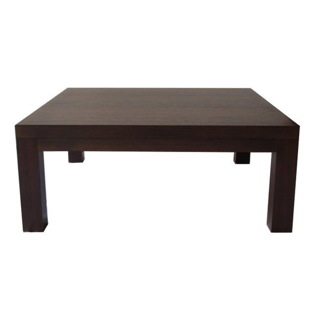 Spencer Fung Wenge Wood Coffee Table - Image 1 of 9