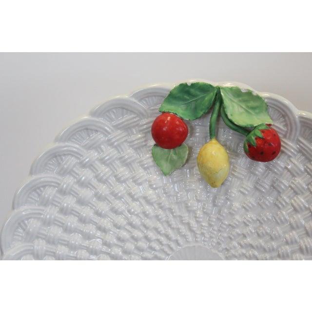 Cottage Vintage Fruit Plates - Set of 6 For Sale - Image 3 of 6