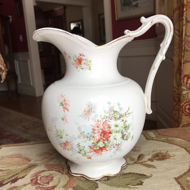Vintage Flower Vase Pitcher - Image 10 of 10