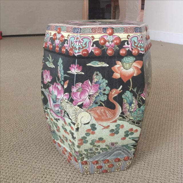 Chinoiserie Garden Stool - Image 7 of 9