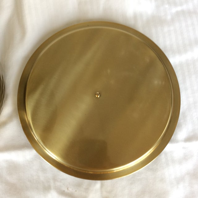 Gold Gold Anodized Double Insulated Ice Bucket and Ice Scoop For Sale - Image 7 of 13
