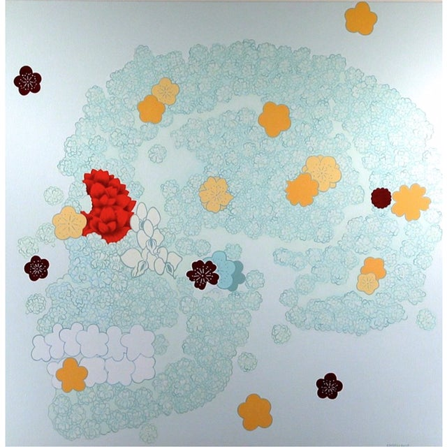 "Christina Burch ""Sakura"" Painting For Sale"