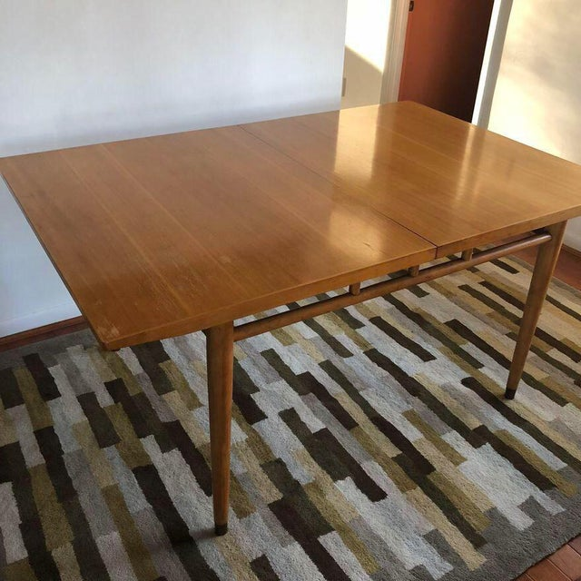 """Drexel Milo Baughman for Drexel """"Today's Living"""" Line Dining Table For Sale - Image 4 of 11"""