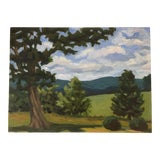Image of Contemporary Landscape Oil Painting For Sale