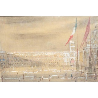 Piazza San Marco by Giorgio Valenzin For Sale