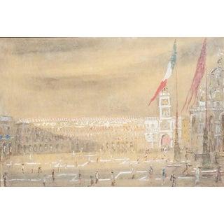 Piazza San Marco by Giorgio Valenzin For Sale
