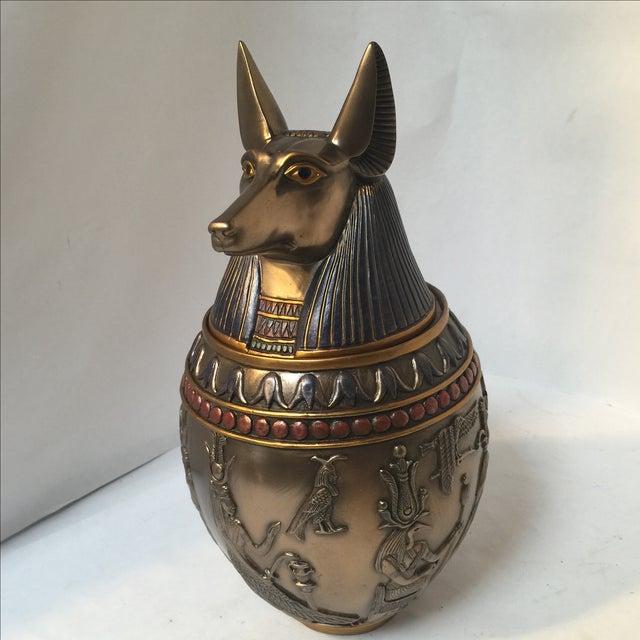 Large Egyptian Dog Urn - Image 7 of 10