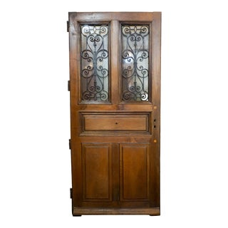 Early 19th Century Antique French Door For Sale