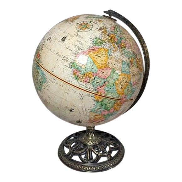 Globemaster Vintage World Globe - Image 1 of 6