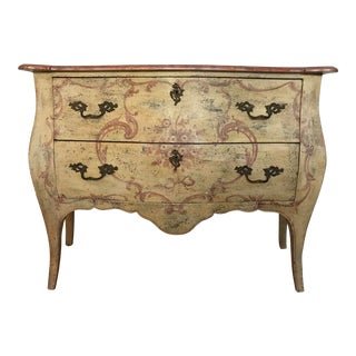 French Hand Painted Dresser For Sale