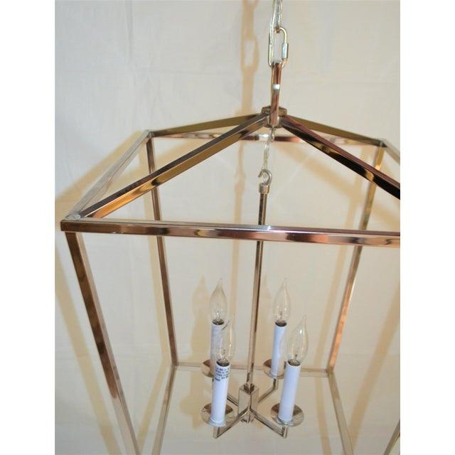Metal Visual Comfort Medium Darlana Lantern For Sale - Image 7 of 9