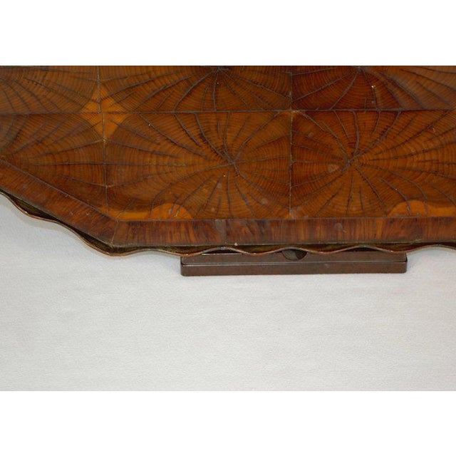 Oyster Veneer Tray For Sale - Image 11 of 13