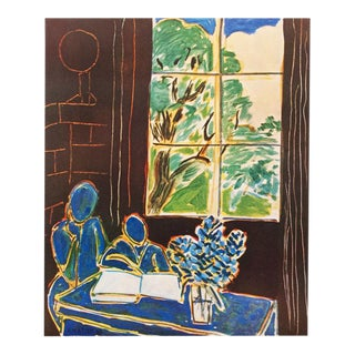1947 Henri Matisse, Original Period Interieur Lithograph For Sale