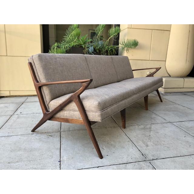 Mid Century Style Custom 3 Seater Sofa