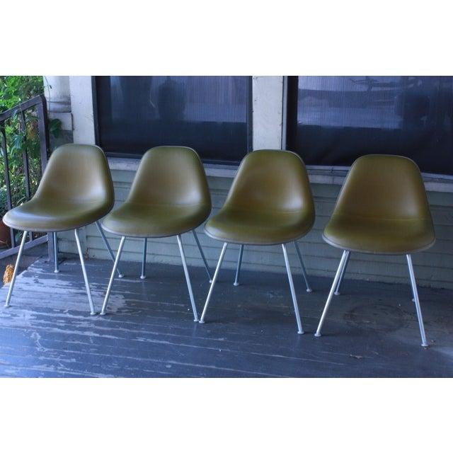 Eames La Fonda Lowback Chairs - Set of 4 - Image 2 of 11