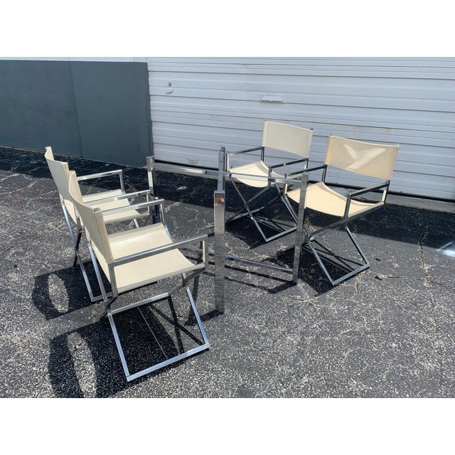 1960s Mid-Century Modern Dining Set by Robert Kjer Jakobsen for Virtue of California - 5 Pieces For Sale - Image 5 of 13