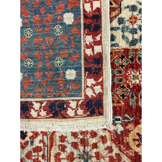 Mamluk Hand Knotted Wool Area Rug - 8'1 X 10'0 - Image 3 of 4