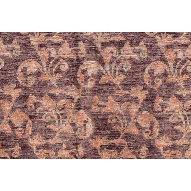 Contemporary Contemporary Hand Woven Wool Rug - 6'4 X 7'6 For Sale - Image 3 of 4