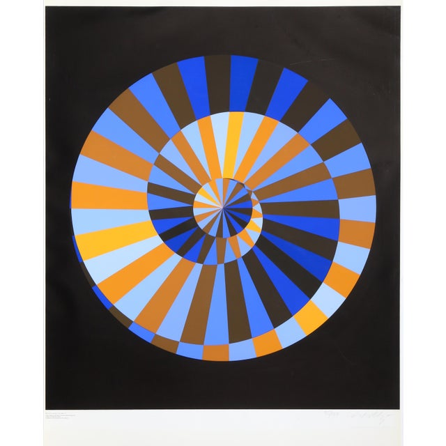 Op Art Munich Olympics by Victor Vasarely For Sale - Image 3 of 3