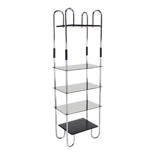 Mid-Century Bauhaus Style Etagere For Sale