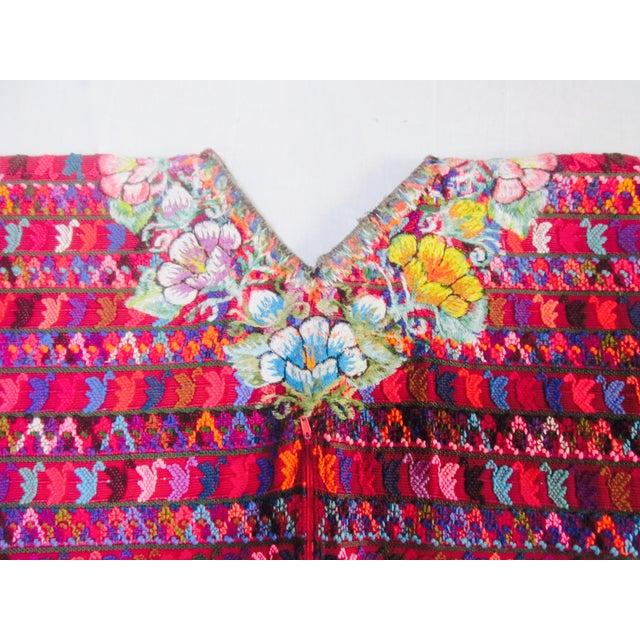 Guatemalan Fabric Boho Beach Textile - Image 9 of 10