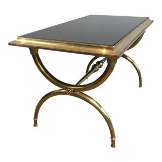 Neoclassical Coffee Table Attributed to Raymond Subes