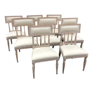 Georgian Dining Chairs - Set of 8 For Sale