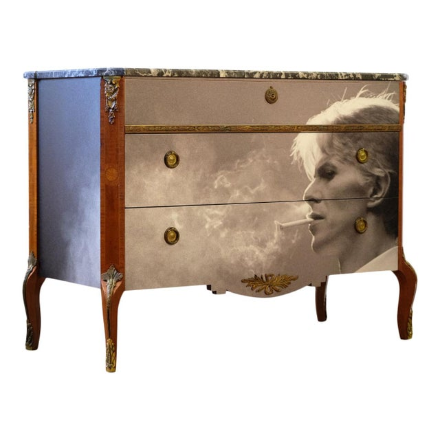 1930s Antique Louis XV Chest For Sale - Image 5 of 5