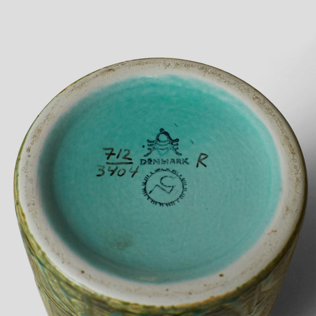 Nils Thorsson ceramic jar with lid For Sale In San Francisco - Image 6 of 6