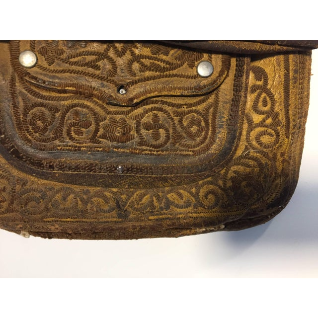 African African Moroccan Shoulder Bag For Sale - Image 3 of 10