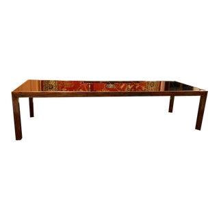 20th Century Henredon Mahogany Dining Table For Sale