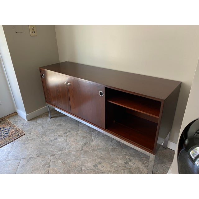 Mid-Century Modern Vintage Console, From Italma Furniture Company, Designed by Jean Gillon, For Sale - Image 3 of 13