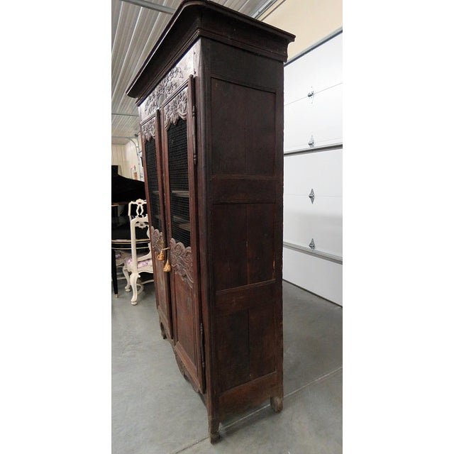 18th C. French Provincial Armoire For Sale In Philadelphia - Image 6 of 11