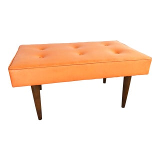 Mid Century Milo Baughman for Thayer Coggin Bench For Sale
