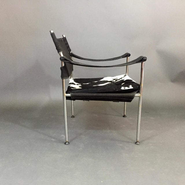 """Canvas """"Irafas"""" Safari Chair, Sigurd Ressell and Cato Mansrud, Norway, 1965 For Sale - Image 7 of 12"""