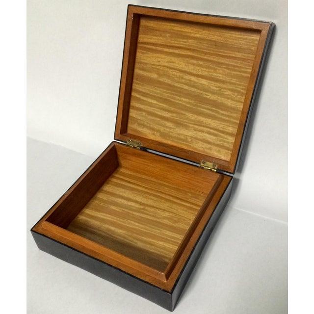 Maitland-Smith Tessellated Box - Image 2 of 2