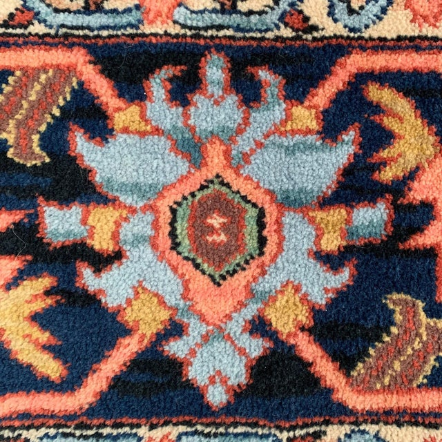 1990s Vintage Serapi #729 Karastan Wool Rug - 8′8″ × 12′ For Sale - Image 5 of 11