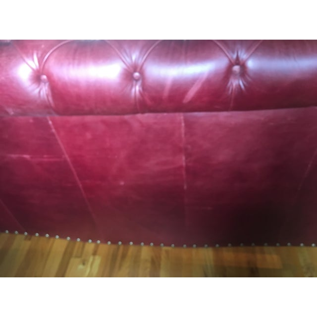 Grange King Leather Sleigh Bed - Image 3 of 8