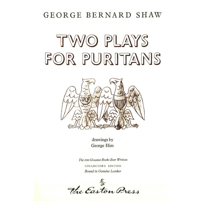 "Booth & Williams 1979 ""Two Plays for Puritans"" Coffee Table Book For Sale - Image 4 of 6"
