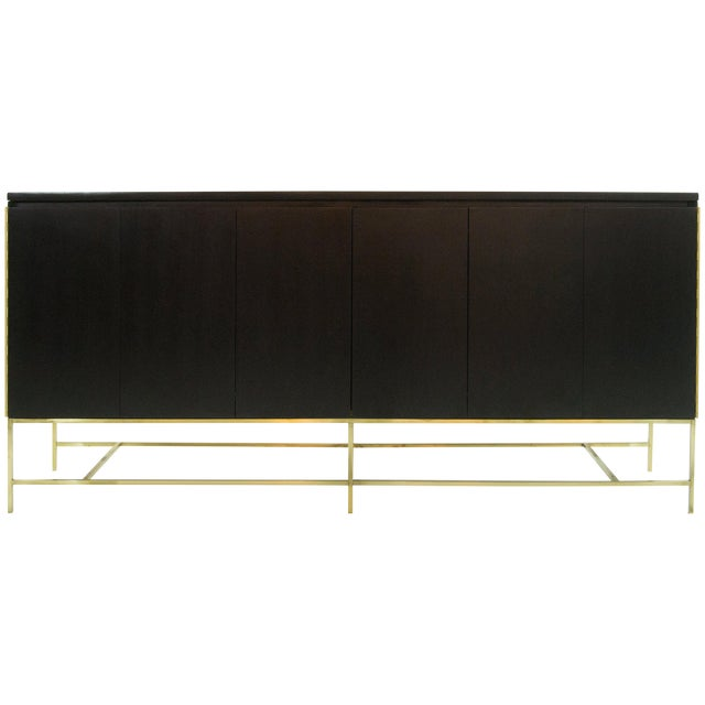 Ebonized Paul McCobb, Calvin Group Credenza, 1950s For Sale
