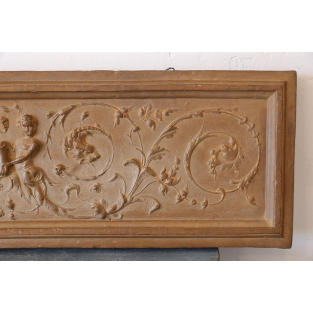 Italian Rococo Terracotta Frieze For Sale - Image 4 of 6
