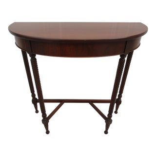 Imperial Furniture Demi-Lune Table