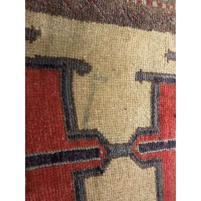 Bellwether Rugs Tribal Pattern Vintage Turkish Oushak Rug - 2′10″ × 12′3″ - Image 9 of 11
