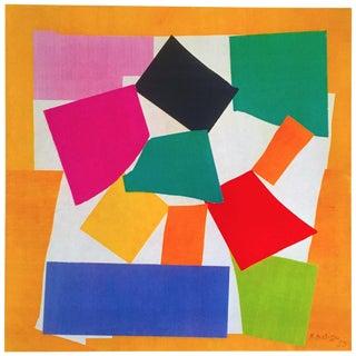 """Henri Matisse Vintage 1973 Authentic Lithograph Print """" the Snail - l'Escargot """" 1953 For Sale"""