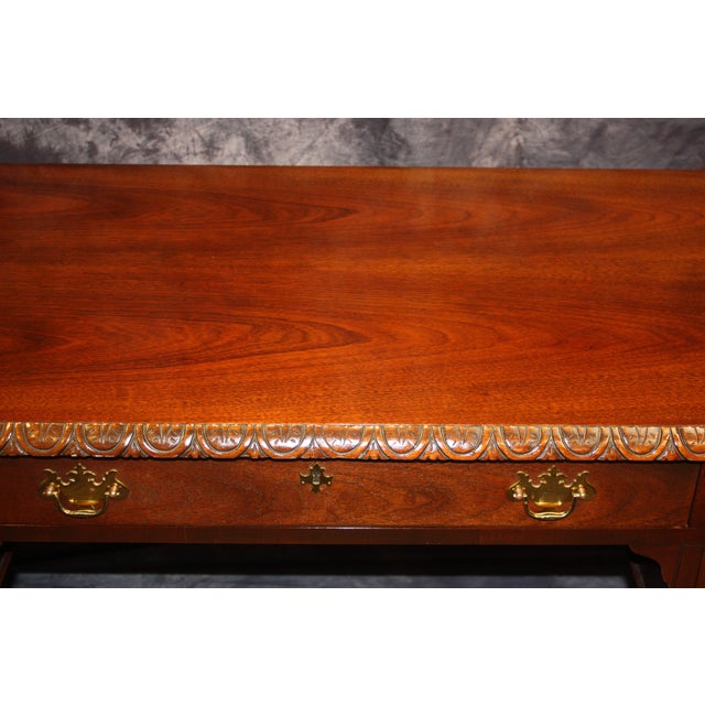 Baker, Historic Charleston Collection Writing Desk For Sale In West Palm - Image 6 of 9