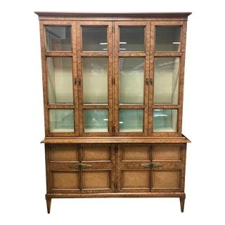 Vintage Henredon China Cabinet For Sale