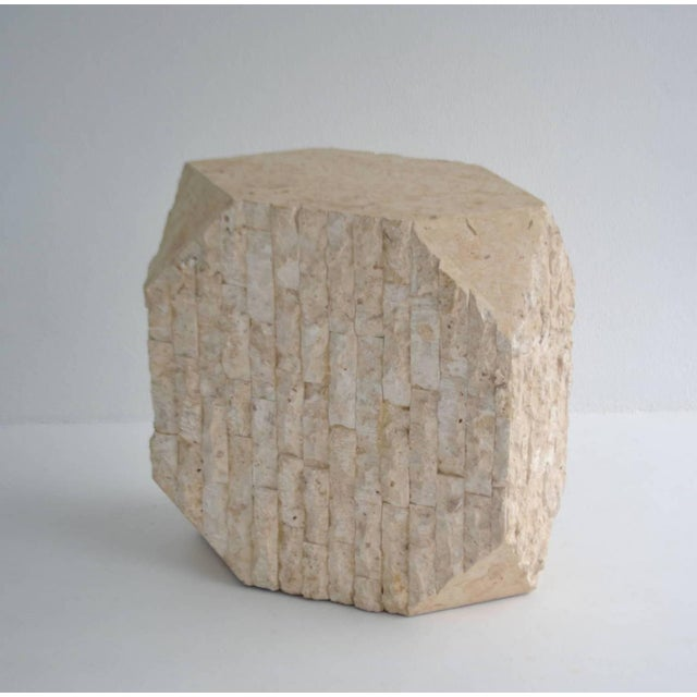 Stone Tessellated Pedestal For Sale - Image 7 of 11