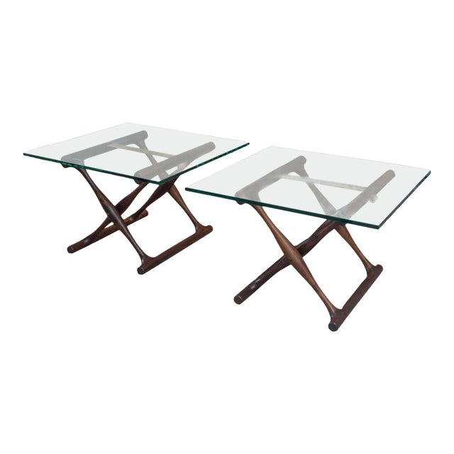 Poul Hundevad Rosewood Side Tables - A Pair - Image 1 of 8