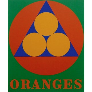 Robert Indiana Oranges 1997 For Sale