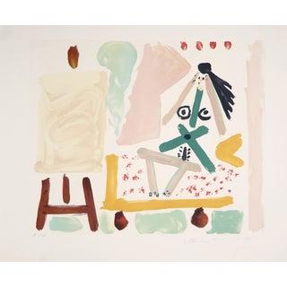 """Pablo Picasso """"Le Modele Dans"""" Lithograph"""